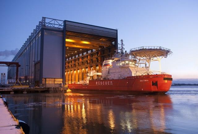 Δείτε σε ένα εντυπωσιακό βίντεο τη ναυπήγηση του παγοθραυστικού «Baltika»