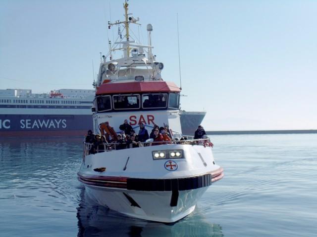 Αυξημένες αφίξεις μεταναστών και προσφύγων στο λιμάνι του Πειραιά