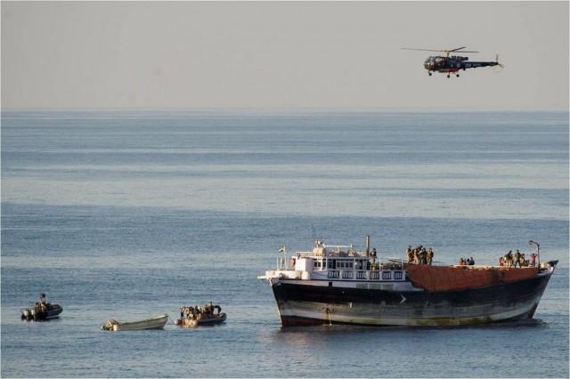 Απελευθέρωση Ινδών ναυτικών από πειρατές
