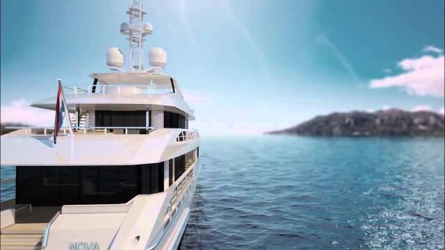 Δείτε σε βίντεο το εντυπωσιακό νέο super-yacht «NOVA-HYBRID»