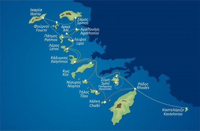 Ανακοίνωση δρομολογίων της Dodekanisos Seaways