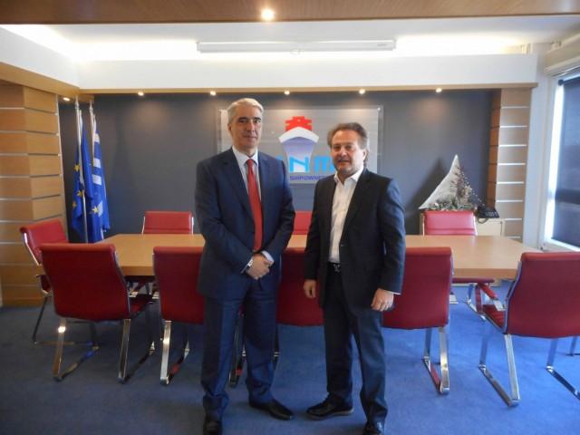 Η συνάντηση του προέδρου της ΕΕΝΜΑ με τον υπεύθυνο Ναυτιλίας της Ν.Δ,