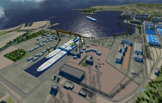 Ένα νέο mega-ναυπηγείο στην Άπω Ανατολή στα άμεσα σχέδια της Ρωσίας