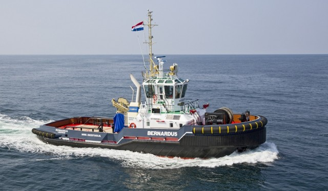 H Damen παραδίδει το πρώτο υβριδικό ρυμουλκό στο Βασιλικό Ναυτικό της Ολλανδίας (video)