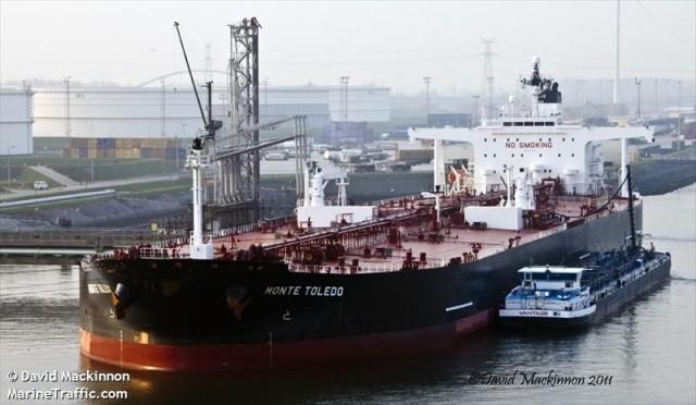 Το «Monte Toledo» είναι το πρώτο δεξαμενόπλοιο που έφτασε από το Ιράν στην Ευρώπη