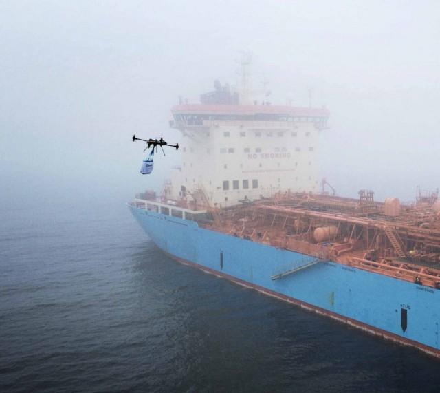 H Maersk εισέρχεται στην εποχή των drones…