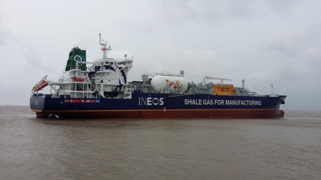 Αναχώρησε από την Αμερική το πρώτο δεξαμενόπλοιο με αιθάνιο και προορισμό την Ευρώπη
