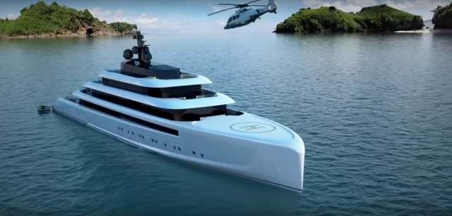 Για αποδράσεις πολυτελείας η «Oceanco» προτείνει το νέο σούπερ γιοτ «Moonstone»