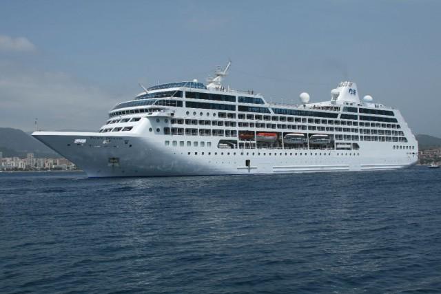 To κρουαζιερόπλοιο Pacific Princess άνοιξε τη σεζόν στα Χανιά