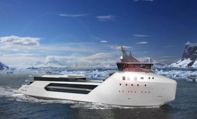 Φωτογραφίες από το εντυπωσιακό mega yacht project «Kilkea»