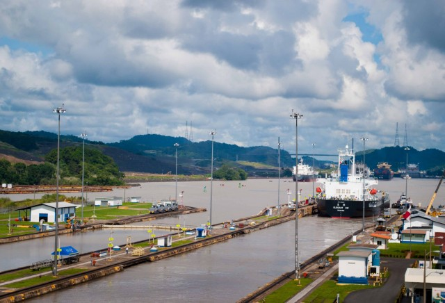 Επιπρόσθετοι περιορισμοί βυθίσματος στην Διώρυγα του Παναμά