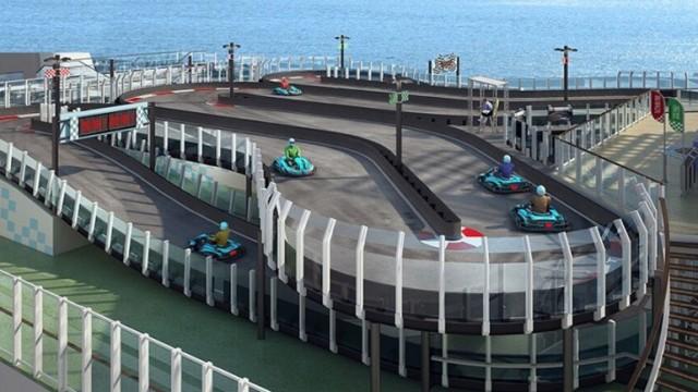 Πίστα καρτ θα διαθέτει το νέο κρουαζιερόπλοιο της Norwegian Cruise Lines