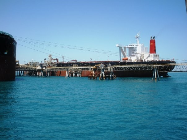 Κυκλοφοριακή συμφόρηση σε έναν από τους μεγαλύτερους λιμένες εξαγωγής πετρελαίου του Ιράκ