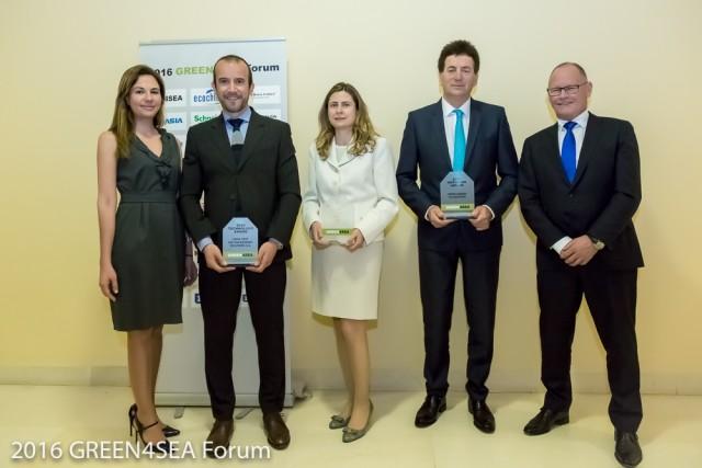Οι Capital, ERMA FIRST και Green Award οι νικητές των βραβείων GREEN4SEA