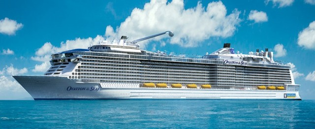 Η Royal Caribbean παρέλαβε το πολυτελές «Ovation of the Seas»