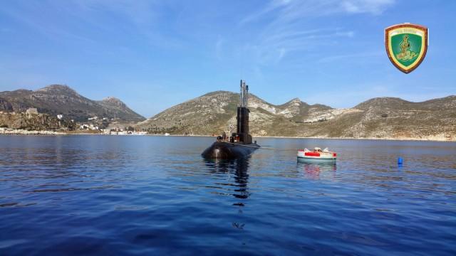 Φωτογραφίες από τον κατάπλου υποβρυχίων στο Καστελόριζο