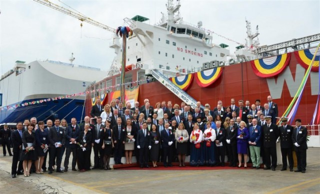 Η DNV GL υποδέχεται το πρώτο παγκοσμίως ποντοπόρο πλοίο που χρησιμοποιεί σαν κάυσιμο Μεθανόλη