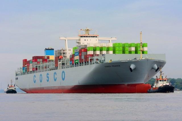 Πτωτική πορεία για την China Cosco Holdings