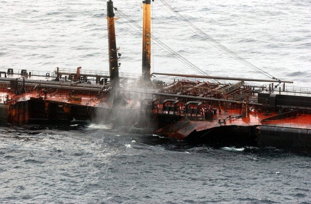 Το ανώτατο δικαστήριο της Ισπανίας καταδικάζει τον πλοίαρχο του Prestige