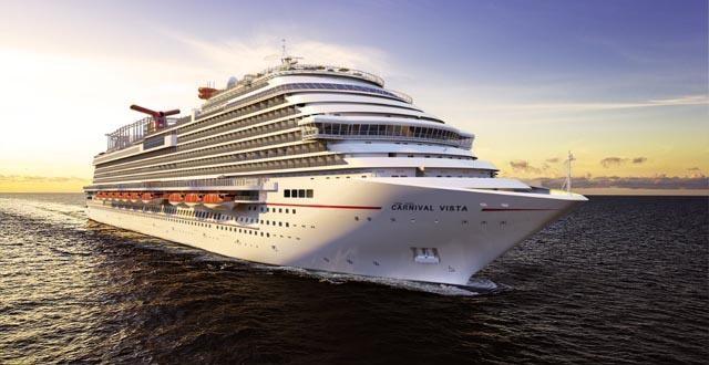Στον Πειραιά έφτασε η «ναυαρχίδα» της Carnival Cruises