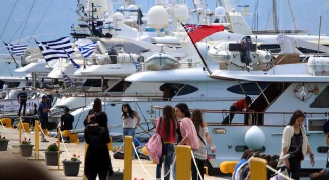 Το 3ο «Mediterranean Yacht Show» στο λιμάνι του Ναυπλίου