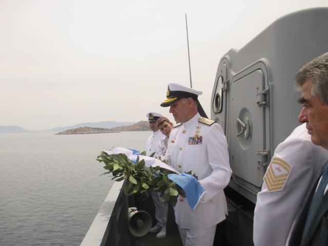 Εκδήλωση μνήμης για τη βύθιση του Αντιτορπιλικού Ψαρά