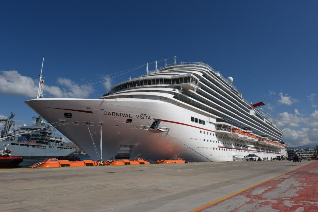 Το Carnival Vista έδεσε στον Πειραιά