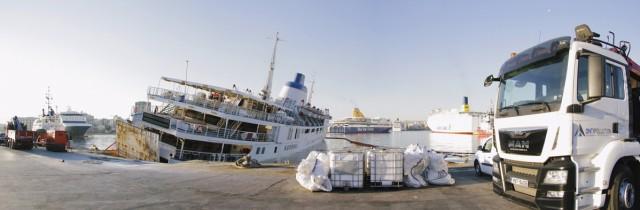 "H Antipollution AΝΕ αντιμετώπισε έγκαιρα συμβάν θαλάσσιας ρύπανσης του Ε/Γ – Ο/Γ ""ΠΑΝΑΓΙΑ ΤΗΝΟΥ"""