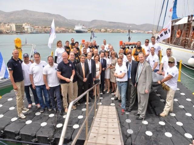 «Ειρήνη» και «Αθήνα»: Δύο νέα διασωστικά σκάφη στο δυναμικό της Ελληνικής Ομάδας Διάσωσης