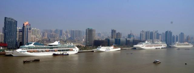 Σανγκάη, ο προτιμητέος λιμένας για τα κρουαζιερόπλοια στην Ασία