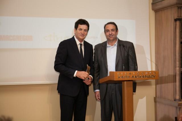 Βραβεία Ευκράντη 2015: Βραβείο καλύτερου manager