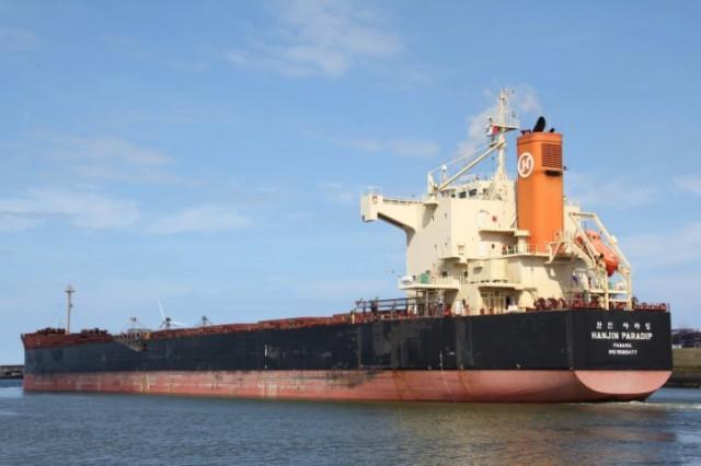 Κράτηση πλοίου της Hanjin για χρέη