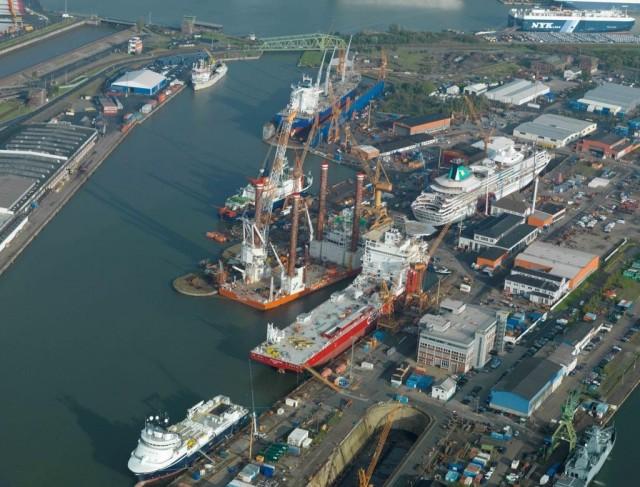Τα ευρωπαϊκά ναυπηγεία βιώνουν μετά από δεκαετίες δυναμική ανάπτυξη