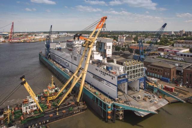 Τα γερμανικά ναυπηγεία «German Dry Docks» επιχειρούν διείσδυση στην Καραϊβική