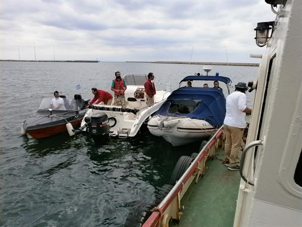 Άσκηση καταπολέμησης ρύπανσης στο λιμάνι της Αλεξανδρούπολης