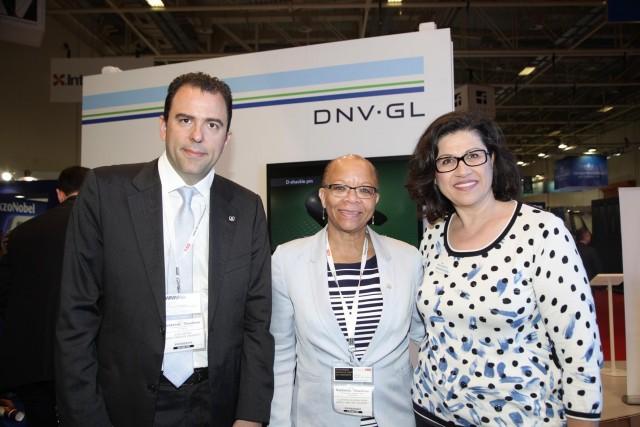 Η Πρόεδρος του Διεθνούς Ναυτιλιακού Πανεπιστημίου συναντήθηκε με τον DNV GL