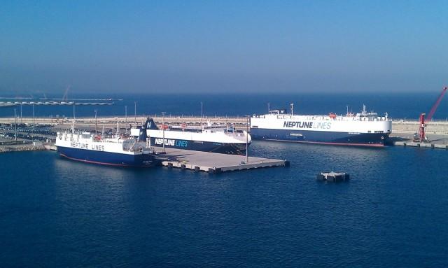 Η Neptune Lines εγκαινιάζει τη νέα της υπηρεσία μεταφοράς οχημάτων στη Μέση Ανατολή