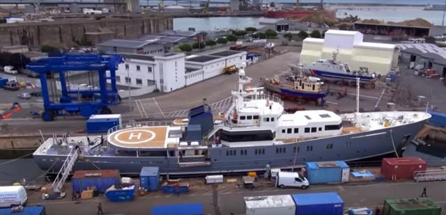 Πως ένα σκάφος περιπολίας για παράνομη αλιεία μετατρέπεται σε mega yacht (βίντεο)