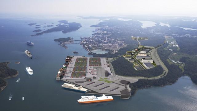 Ξεκινούν τα έργα του νέου εμπορικού λιμένα της Στοκχόλμης, «Norvik Port» (βίντεο)