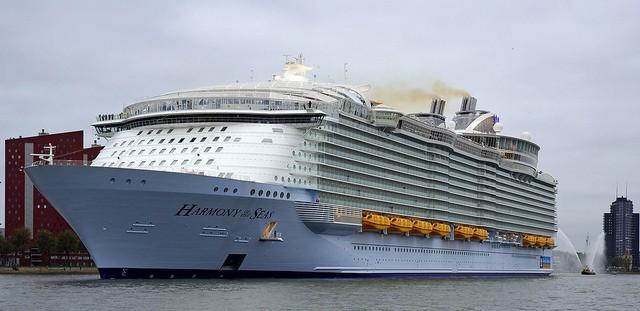 H Wärtsilä εξοπλίζει το «Harmony of the Seas», το μεγαλύτερο κρουαζιερόπλοιο του κόσμου