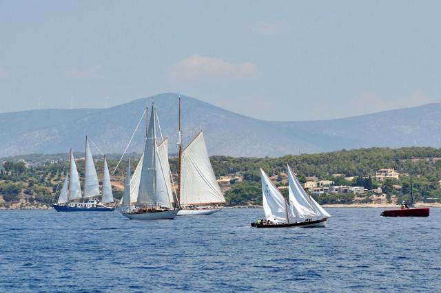 Ο Ναυτικός Όμιλος Σπετσών στην 6η διοργάνωση του  Spetses Classic Yacht Regatta