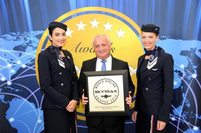 """Για 6η συνεχή χρονιά η AEGEAN καλύτερη περιφερειακή αεροπορική εταιρεία στην Ευρώπη"""""""