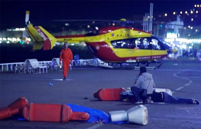 Φονική επίθεση στη Νίκαια της νότιας Γαλλίας