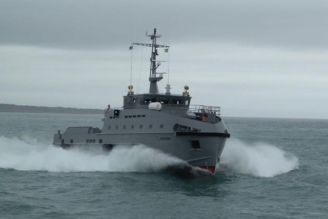Νέα σκάφη περιπολίας στις θάλασσες της Νιγηρίας για πάταξη πειρατείας