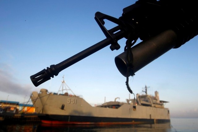 Προς χρήση ένοπλων φρουρών στα πλοία που διαπλέουν την Θάλασσα Σούλου στις Φιλιππίνες