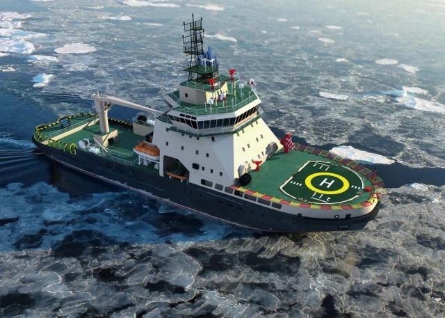 Το ΠΝ της Ρωσίας αποκτά υπερσύγχρονο παγοθραυστικό για τον Βόρειο Στόλο του (video)