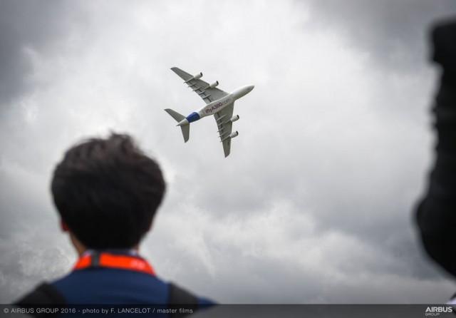 H Airbus εξασφάλισε νέες παραγγελίες $35 δισεκατομμυρίων στο Farnborough Air Show 2016