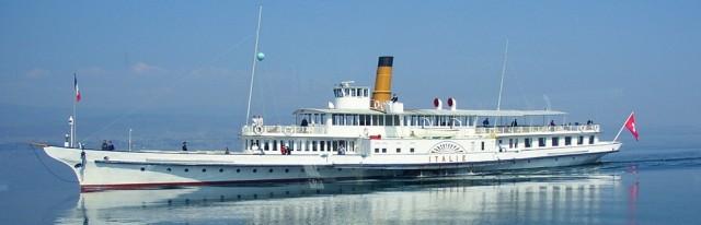 Ένα ιστορικό ατμόπλοιο ξαναρχίζει δρομολόγια στη λίμνη της Γενεύης (video)