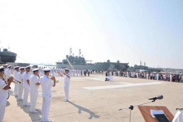 O θερινός εκπαιδευτικός πλους της σχολής μονίμων Υπαξιωματικών Ναυτικού