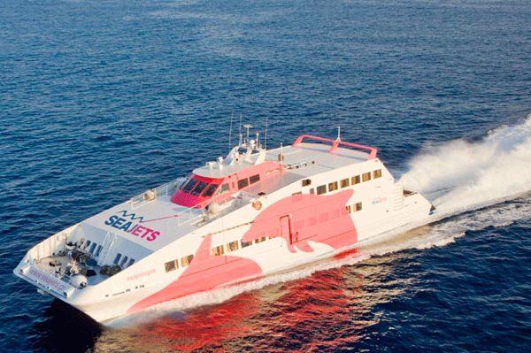 Μηχανική βλάβη στο Ε/Γ- CAT SEA JET 2